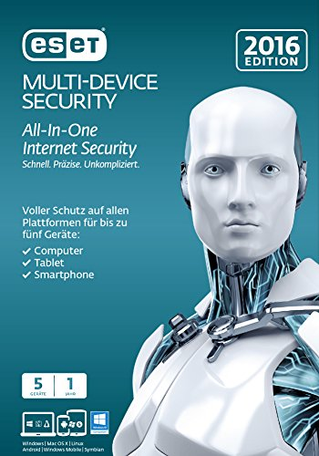 ESET Multi Device Security 2016 - 5 Geräte