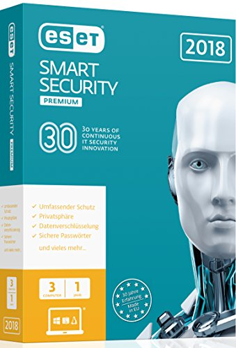 ESET Smart Security Premium (2018) Edition 3 User