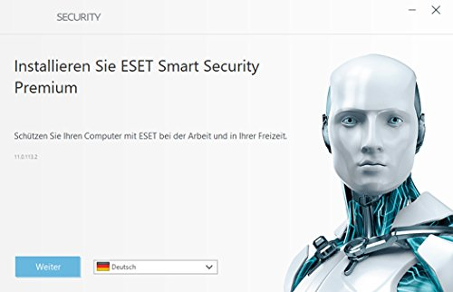 ESET Smart Security Premium (2018) Edition 3 User Software - 2