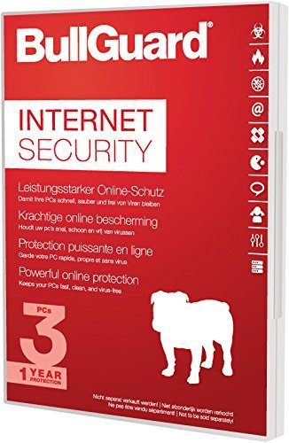 BullGuard Internet Security 2017 1 Jahr/3 Geräte Windows