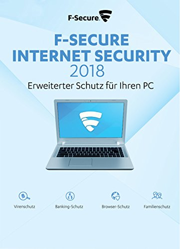 F-Secure Internet Security 2018 Update - 1 Jahr / 3 PCs