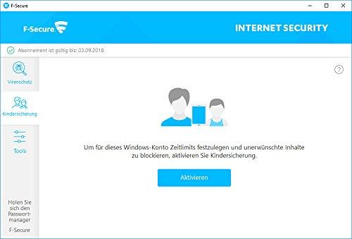 F-Secure Internet Security Update - 1 Jahr / 3 PCs - 3