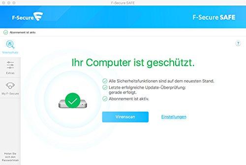 F-Secure SAFE Internet Security - 1 Jahr / 1 Gerät - 2