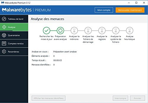 Malwarebytes Premium 3.0 für Windows - MALWAREBYTES offizieller Partner (direkter Download) - 2