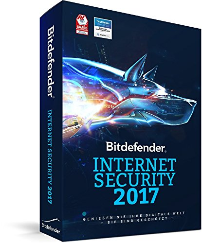 Bitdefender Internet Security 2017 - 1 Gerät | 1 Jahr (MAC, Windows & Android) - Aktivierungscode (bumps) - 2