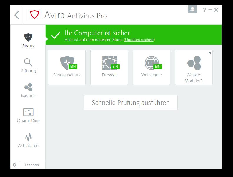 Avira Antivirus Plus Software Edition 2018 / Sicheres Virenschutzprogramm (Jahres-Abonnement) für 2 Geräte / Download für Windows (7, 8, 8.1, 10) und Mac [Online Code] - 6