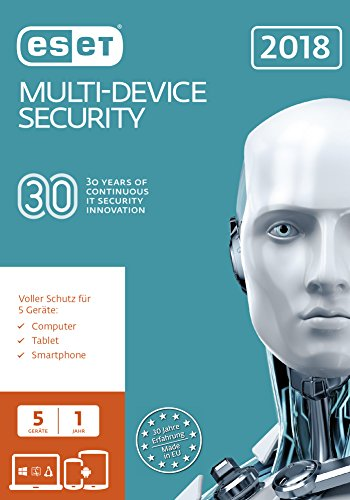 ESET Multi-Device Security 2018 Edition Software