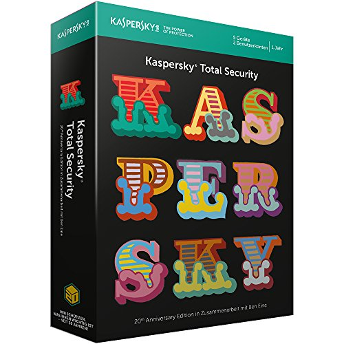 Kaspersky Total Security 2018 20th Anniversary Edition