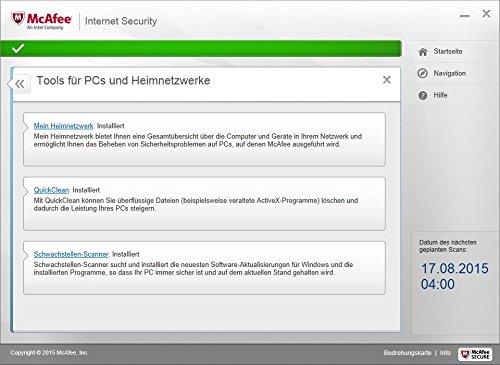 McAfee Internet Security 2016 unlimited - für eine unbegrenzte Anzahl an Geräten (Minibox Verpackung) - 5