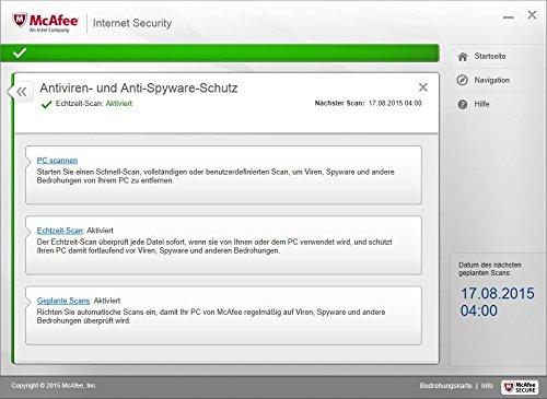 McAfee Internet Security 2016 unlimited - für eine unbegrenzte Anzahl an Geräten (Minibox Verpackung) - 6