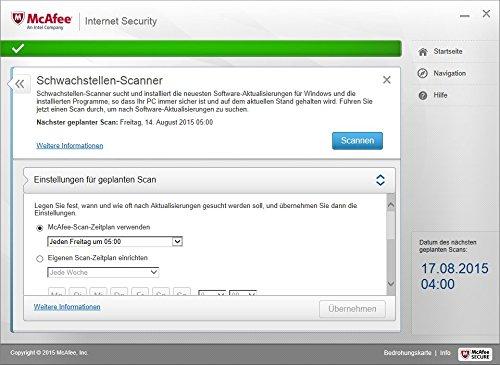 McAfee Internet Security 2016 unlimited - für eine unbegrenzte Anzahl an Geräten (Minibox Verpackung) - 7