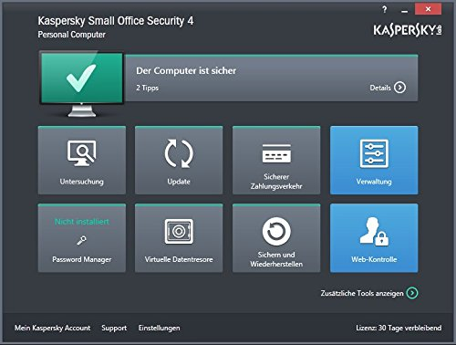 Kaspersky Small Office Security V4.0 Base 5 PCs + 1 Server - 2