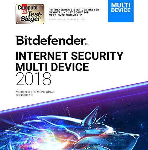 Bitdefender Internet Security Multi-Device 2018 - 3 Jahre