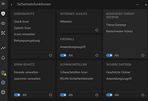 Bitdefender Internet Security Multi-Device 2018 - 2 Jahre / 5 Geräte + VPN - 5