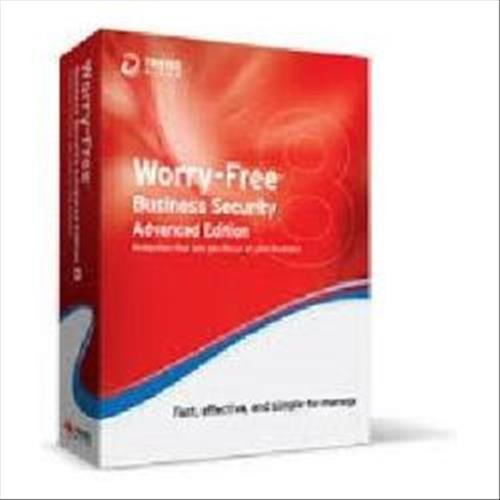 TREND MICRO Worry-Free Business Security 9.0 Advanced Edition - 5 User multilingual PC