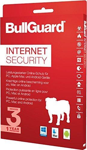 BullGuard Internet Security 2017 1 Jahr/3 Geräte