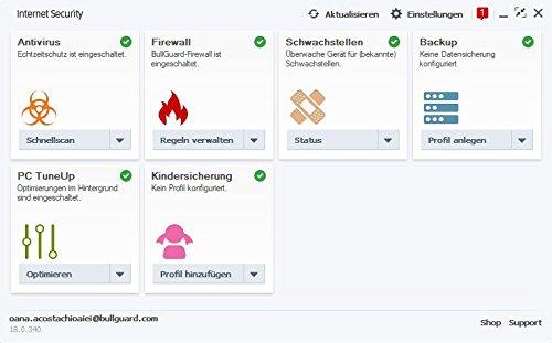 BullGuard Internet Security 1 Jahr 3 Geräte Slimline Mini Tuckin - 2