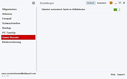 BullGuard Internet Security 1 Jahr 3 Geräte Slimline Mini Tuckin - 4