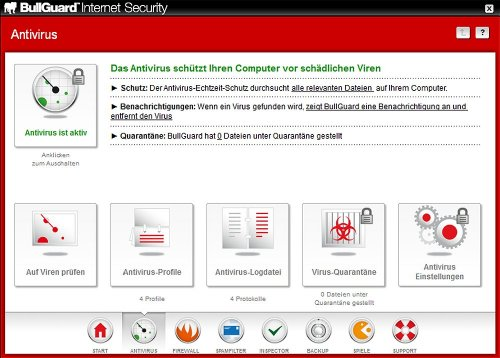 BullGuard Internet Security 10 (für 3 PCs/1 Jahr Abo) - 3