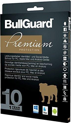 BullGuard Premium Protection 2017 1 Jahr/10 Geräte