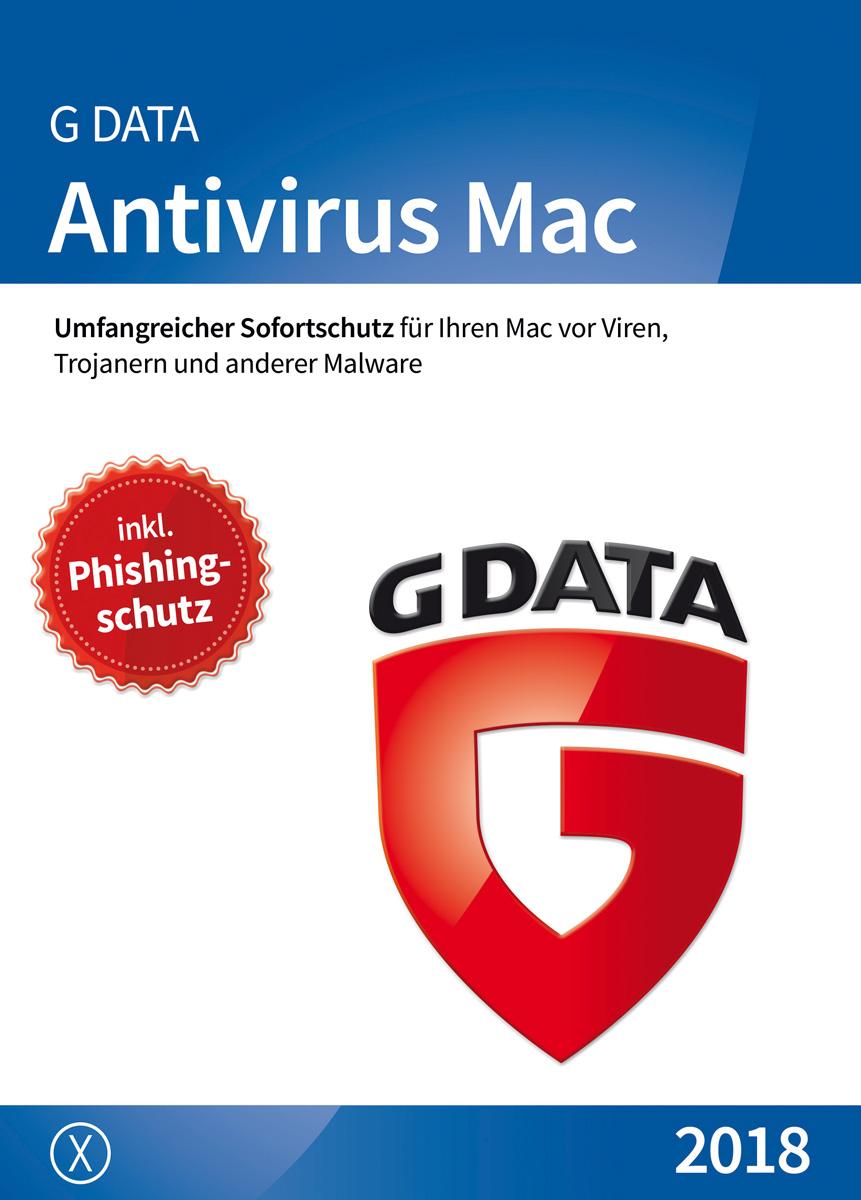 G DATA Antivirus für Mac OS X - 1PC / 1 Jahr