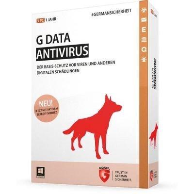 G Data Antivirus - 3 PCs / 1 Jahr