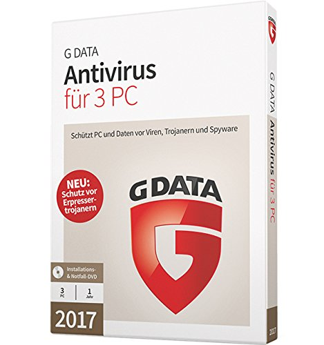 G Data Anti-Virus 2017, 3-teilig