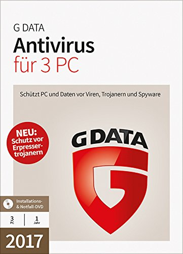 G Data Anti-Virus 2017, 3-teilig - 3