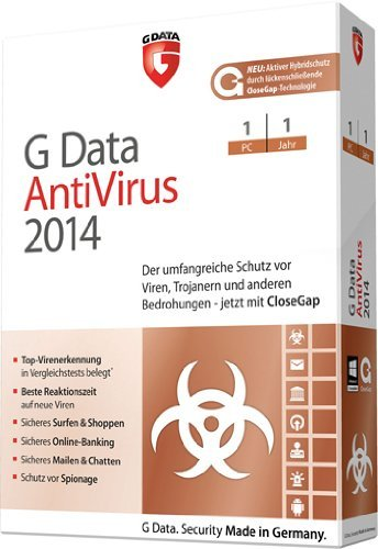 G Data AntiVirus 2014 - 1 PC