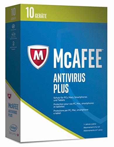 McAfee AntiVirus Plus 2017 | 10 Geräte | 1 Jahr