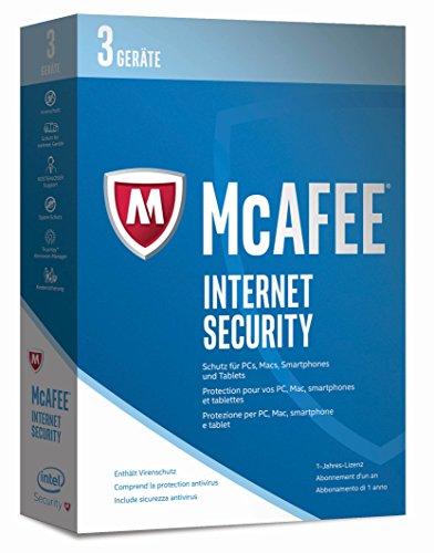 McAfee Internet Security 2017 | 3 Geräte | 1 Jahr