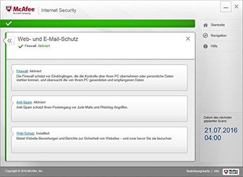 McAfee Internet Security 2017 | 3 Geräte | 1 Jahr | PC/Mac/Smartphone/Tablet | Download - 7