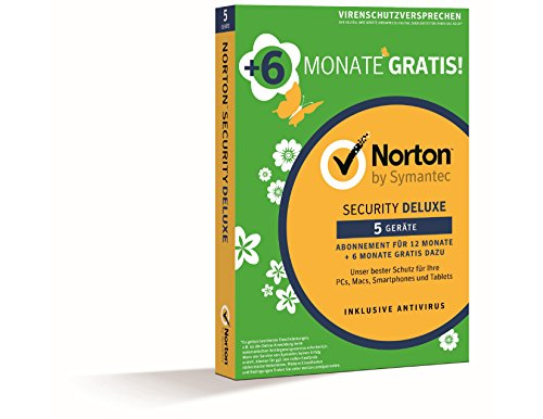 Norton Security Deluxe 2018 | 5 Geräte | 18 Monate