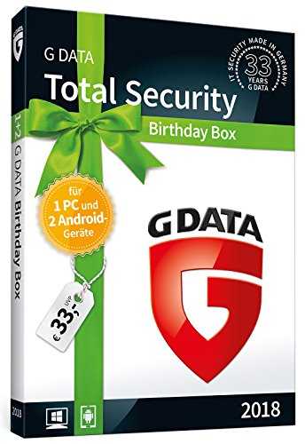 "G DATA Total Security ""Birthday Box"" / 1 Jahr"