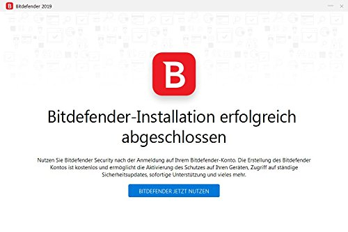 Bitdefender Antivirus Plus 2019 PC Edition – 1 PC | 1 Jahr / 365 Tage (Windows Geräte) - Aktivierungscode & Installationsanleitung (bumps packaged) - 8