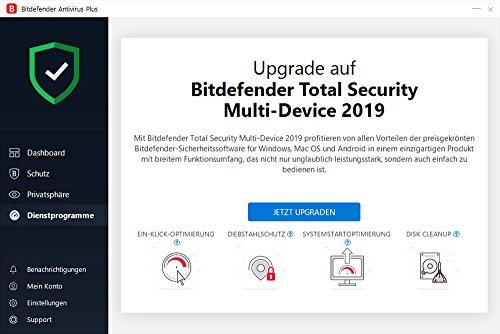 Bitdefender Antivirus Plus 2019 - Inkl. VPN - 3 Jahre / 5 Geräte für PC - 5