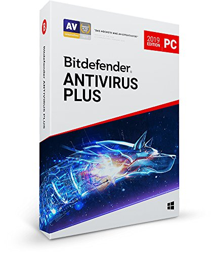 Bitdefender Antivirus Plus 2019 PC Edition, 1 PC | 2 Jahre