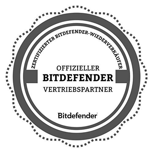 Bitdefender Antivirus Plus 2019 PC Edition – 1 PC | 2 Jahre / 730 Tage (Windows Geräte) - Aktivierungscode & Installationsanleitung (bumps packaged) - 2