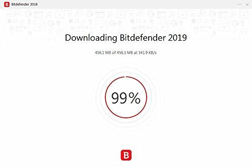 Bitdefender Antivirus Plus 2019 PC Edition – 1 PC | 2 Jahre / 730 Tage (Windows Geräte) - Aktivierungscode & Installationsanleitung (bumps packaged) - 4