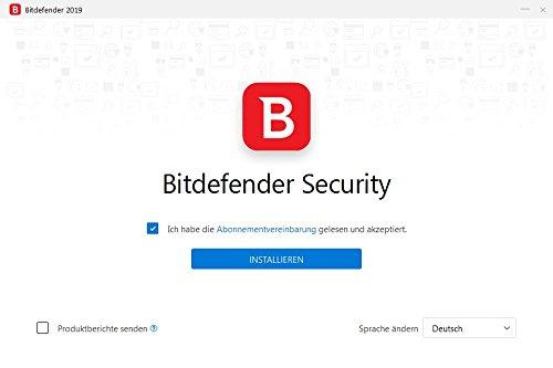 Bitdefender Antivirus Plus 2019 PC Edition – 1 PC | 2 Jahre / 730 Tage (Windows Geräte) - Aktivierungscode & Installationsanleitung (bumps packaged) - 6
