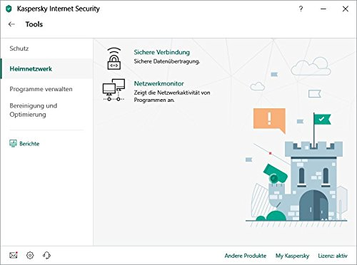 Kaspersky Internet Security 2019 5 Geräte Upgrade Mini-Box|Upgrade|5|1 Jahr|PC/Mac/Android|Download|Download - 3
