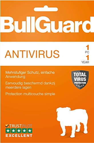 BullGuard Antivirus 2019 1 Jahr, 1User