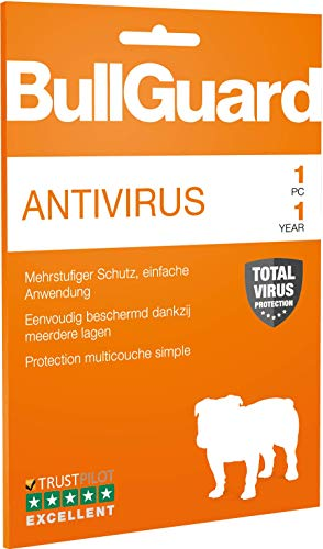 BullGuard Antivirus 2019 1 Jahr 1User WIN only Retail|Standard/Upgrade/Home/Personal/Professional usw.|1 Gerät|1 Jahr|PC|Download|Download - 2