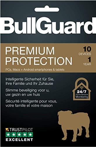 BullGuard Premium Protection 2019 1Y/10 Geräte