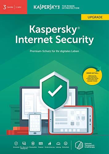 Kaspersky Internet Security 2019 Upgrade - 3 Lizenzen für PCs/Macs - 2