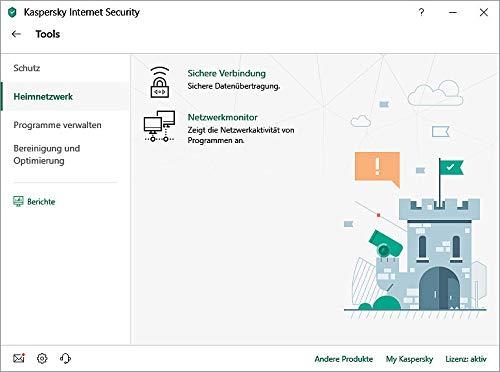 Kaspersky Internet Security 2019 Upgrade - 3 Lizenzen für PCs/Macs - 3