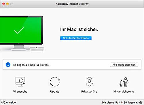 Kaspersky Internet Security 2019 Upgrade - 3 Lizenzen für PCs/Macs - 7
