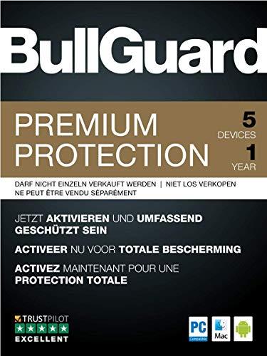 BullGuard Premium Protection 2019 1Y/5 Geräte