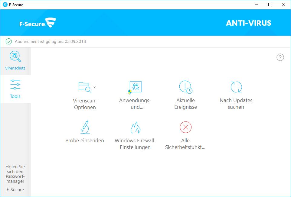 F-Secure Anti-Virus 2019 - 1 Jahr / 1 PC für PC [Online Code] - 3