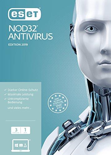 ESET NOD32 Anivirus 2019 | 3 User | 1 Jahr Virenschutz